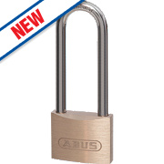 Abus Brass Long Shackle Padlock 39mm