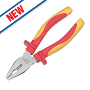 Forge Steel VDE Combination Pliers 8""