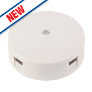 30A 3-Terminal Junction Box White