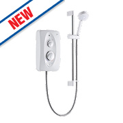 Mira Jump Electric Shower White / Chrome 8.5kW