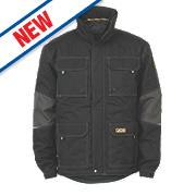 """JCB Bamford Jacket Black Large 41"""" Chest"""