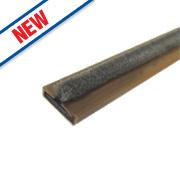 Firestop Intumescent Fire & Smoke Door Seals Brown 15 x 4 x 2100mm Pack of 10