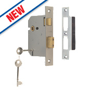"Union 3-Lever Sashlock Satin Chrome "" / mm"