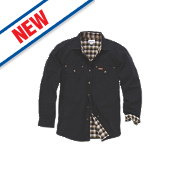 "Carhartt Weathered Canvas Shirt Black Medium 48"" Chest"