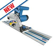 Scheppach PL45 1010W 145mm Plunge Saw 240V & 2 x 700mm Guide Rails
