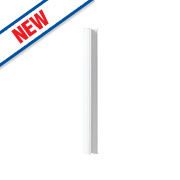 Gloss White Slab Kitchen Base Corner Coversion Kit 92 x 58 x 735mm
