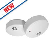 Dicon SA902CBUK Ionisation Smoke Alarms Twin Pack