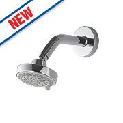 Aqualisa Fixed Shower Head Chrome 105 x 45mm