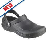 Crocs Bistro Non-Safety Work Shoes Black Size 8