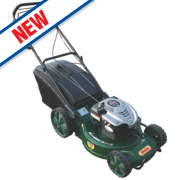 Webb WER19A 48cm 190cc Self-Propelled Rotary 3-in-1 Alloy Deck Lawn Mower