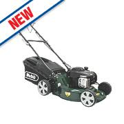 Webb WER18SP 46cm hp 140cc Self-Propelled Rotary 3-in-1 Petrol Lawn Mower