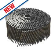 DeWalt Ring Shank Coil Nails Galvanised 2.1ga 50mm Pack of 14000