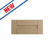 Oak Kitchens Shaker 600 Bridging Door 596 x 293mm