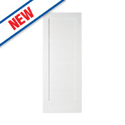 Jeld-Wen Shaker Single-Panel Interior Door Primed White 1981 x 838mm
