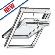 Velux Integra Solar Roof Window Centre-Pivot Noise Reduction Clear 780 x 1400mm