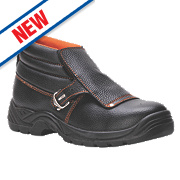 Steelite FW07 Safety Welders Boots Black Size 8
