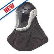 3M VersaFlo M-406 Respiratory Helmet with Visor & Shroud