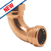 Yorkshire Tectite Sprint Push-Fit Pipe Elbow 15mm