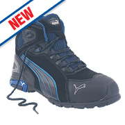 Puma Rio Mid Safety Trainer Boots Black Size 10