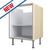 Oak Kitchen Base Cabinet 600 x 570 x 880mm