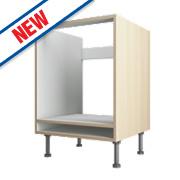 Oak Kitchen Under Oven Housing Cabinet 600 x 570 x 880mm