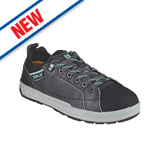 CAT Brode Ladies Safety Trainers Dark Grey / Mint Size 4
