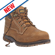 Site Clay Safety Boots Tan Size 12