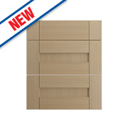 Oak Kitchens Shaker 600 Pan Drawer Fronts 596 x 732mm