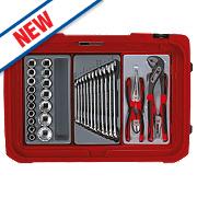Teng Tools Service Case Tool Kit 108 Piece Set