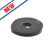 """Arctic Products MT Drain Cock Tap Washers Black ½"""" Pack of 5"""
