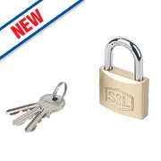 Smith & Locke Brass Padlock 40mm