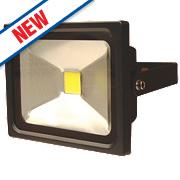 LAP Slimline LED Floodlight 20W Black