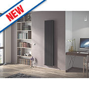 Moretti Ravello Vertical Designer Radiator Anthracite 1800x526mm