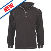 Site Beech Microfleece Pullover Black Medium 43""