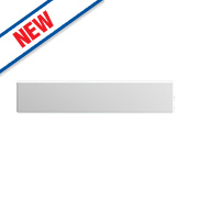 Slab Kitchens 600 Appliance Panel White Gloss 139 x 596mm