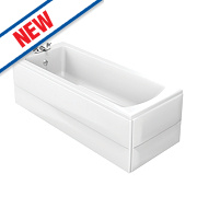 Ideal Standard Vue Bath Acrylic 2 Tap Holes 1700mm