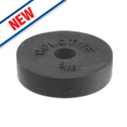 """Arctic Products Holdtite Flat Tap Washers Black 5/8"""" Pack of 2"""