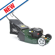 Webb WERR19 48cm hp 190cc Self-Propelled Rotary 2-in-1 Petrol Lawn Mower