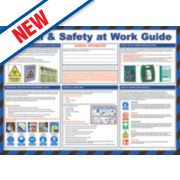 Health & Safety at Work Poster 420 x 594mm