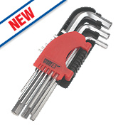 Forge Steel Metric Hex Key Set 9 Pieces