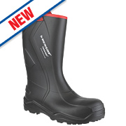 Dunlop Purofort+ C762043 Safety Wellingtons Black Size 7