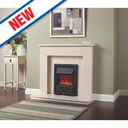 Be Modern Roma Fire Surround Manila Micro Marble