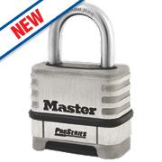 Master Lock Pro Series Stainless Steel Combination Padlock 57mm