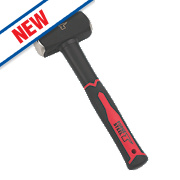 Forge Steel Fibreglass Handle Club Hammer 3lb