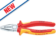 Knipex VDE Combination Pliers 8""