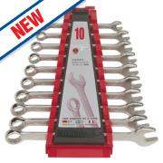 Teng Tools Metric Combination Spanner Set 10 Pieces