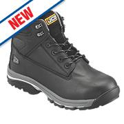 JCB Fast Track Safety Boots Black Size 12