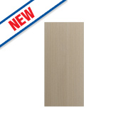 Matt Oak Shaker Kitchen Add-On Wall Panel 355 x 18 x 776mm