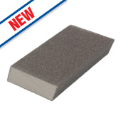 Norton Expert Dual Grit Angled Sanding Sponge Fine/Medium