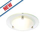 Spa Draco Bathroom Ceiling Light Glass G9 28W